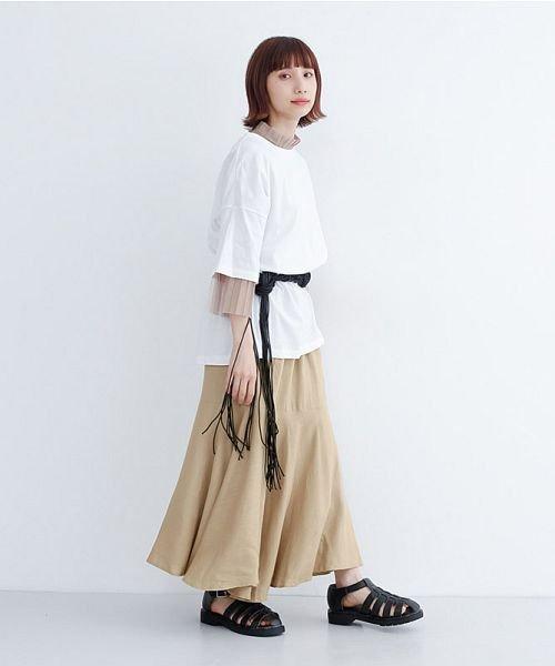 merlot(メルロー)/レーヨンリネンマーメイドスカート/00010012-939230152911_img13