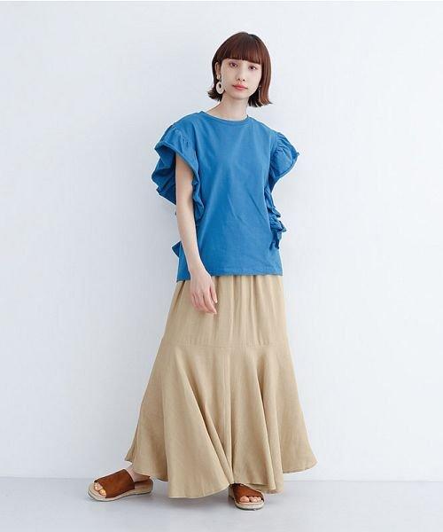 merlot(メルロー)/レーヨンリネンマーメイドスカート/00010012-939230152911_img14