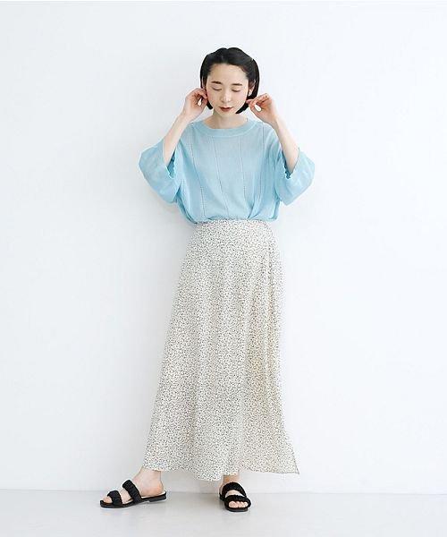 merlot(メルロー)/サイドスリットAラインスカート/00010012-939230153007_img15