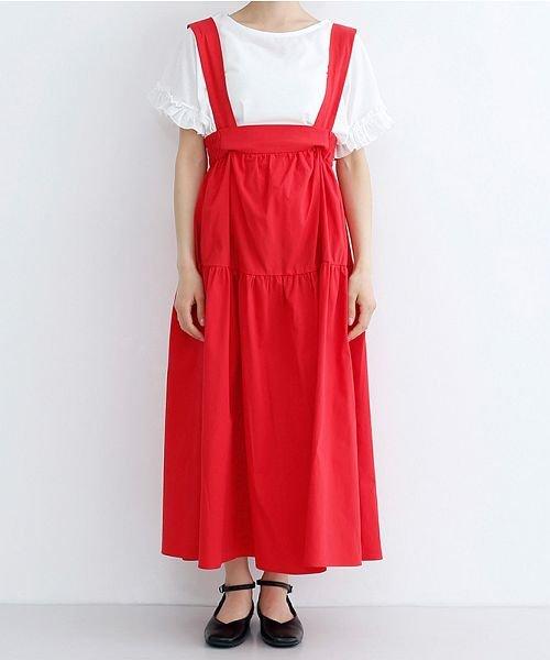 merlot(メルロー)/3wayコットンギャザースカート/00010012-939230153008_img01