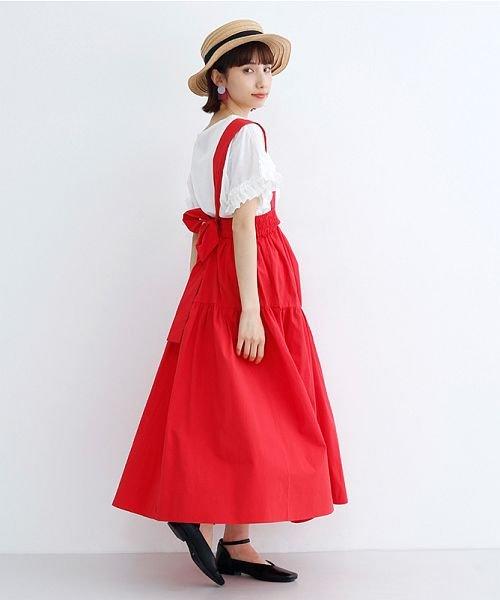 merlot(メルロー)/3wayコットンギャザースカート/00010012-939230153008_img17