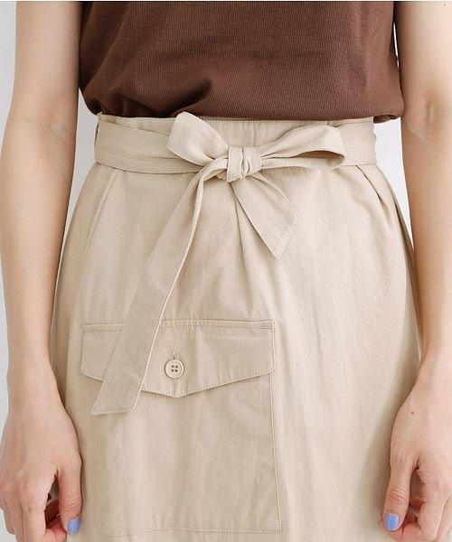 merlot(メルロー)/ビッグポケットサロンスカート/00010012-939230202915_img04