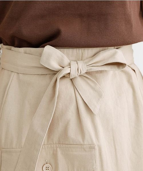 merlot(メルロー)/ビッグポケットサロンスカート/00010012-939230202915_img06