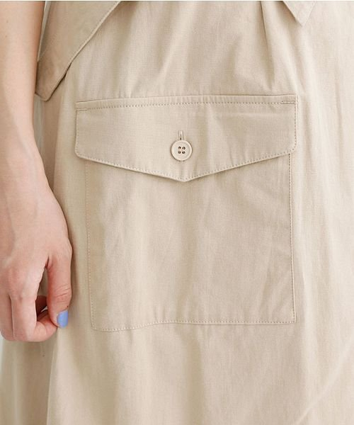 merlot(メルロー)/ビッグポケットサロンスカート/00010012-939230202915_img07
