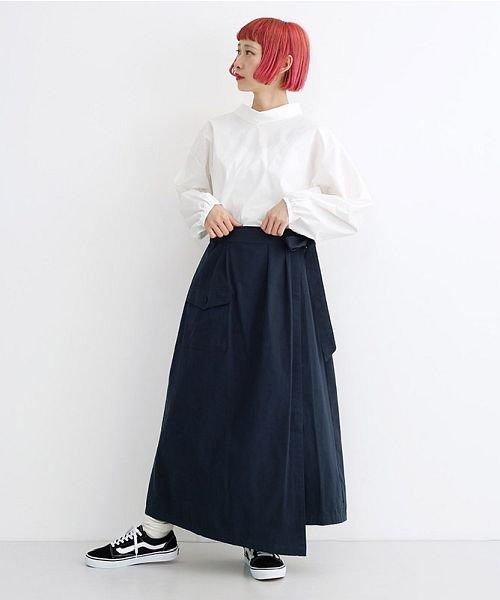 merlot(メルロー)/ビッグポケットサロンスカート/00010012-939230202915_img10