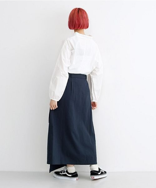 merlot(メルロー)/ビッグポケットサロンスカート/00010012-939230202915_img11