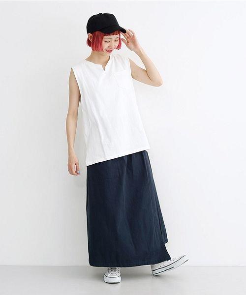 merlot(メルロー)/ビッグポケットサロンスカート/00010012-939230202915_img12