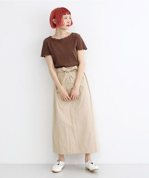 merlot(メルロー)/ビッグポケットサロンスカート/00010012-939230202915_img13