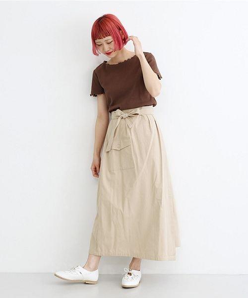 merlot(メルロー)/ビッグポケットサロンスカート/00010012-939230202915_img14