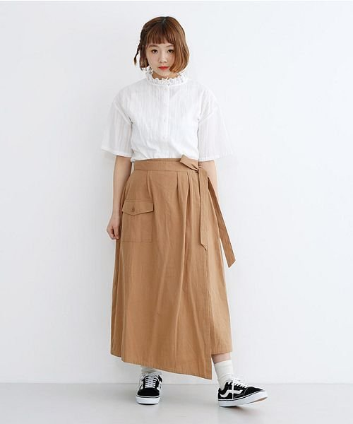 merlot(メルロー)/ビッグポケットサロンスカート/00010012-939230202915_img15