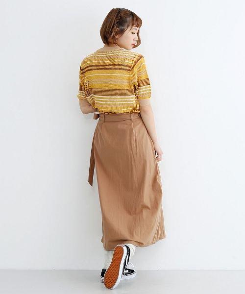 merlot(メルロー)/ビッグポケットサロンスカート/00010012-939230202915_img17