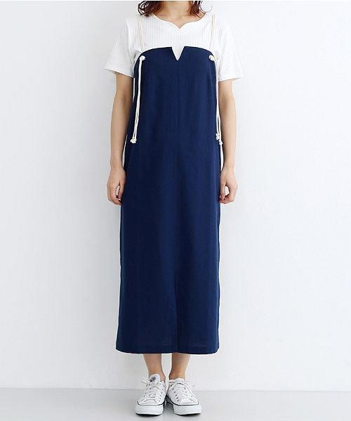 merlot(メルロー)/ロープスピンドルジャンパースカート/00010012-939230202936_img01