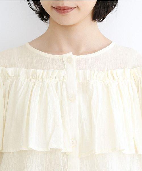 merlot(メルロー)/【IKYU】フリルノースリーブブラウス/00010012-939270063076_img04