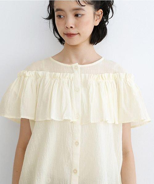 merlot(メルロー)/【IKYU】フリルノースリーブブラウス/00010012-939270063076_img05