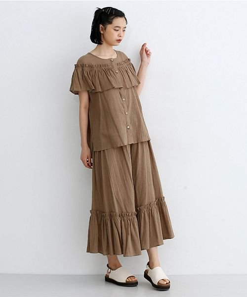 merlot(メルロー)/【IKYU】フリルノースリーブブラウス/00010012-939270063076_img14