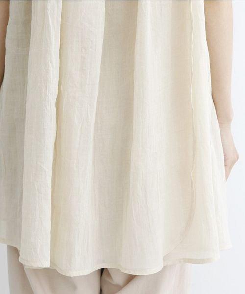 merlot(メルロー)/【IKYU】ギャザーノースリシャツ/00010012-939270063185_img08