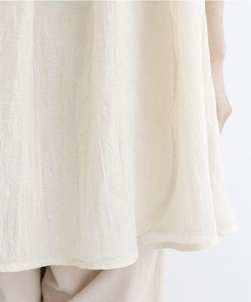 merlot(メルロー)/【IKYU】ギャザーノースリシャツ/00010012-939270063185_img09
