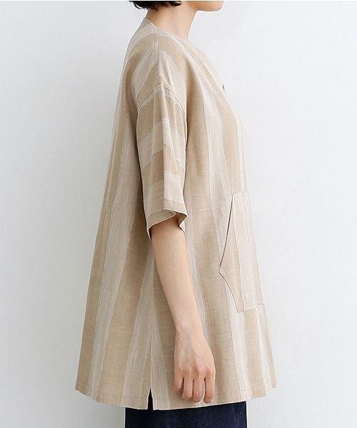 merlot(メルロー)/【IKYU】ストライププルオーバーシャツ/00010012-939670063174_img02