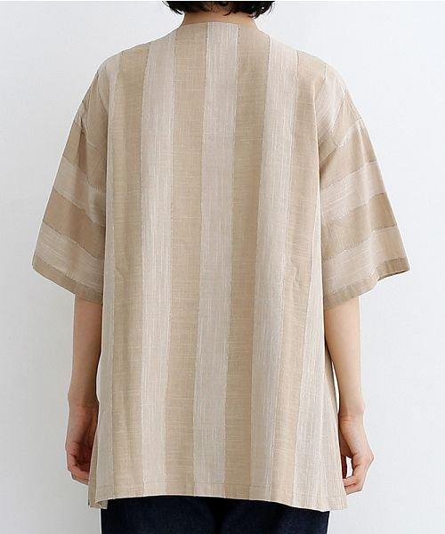 merlot(メルロー)/【IKYU】ストライププルオーバーシャツ/00010012-939670063174_img03