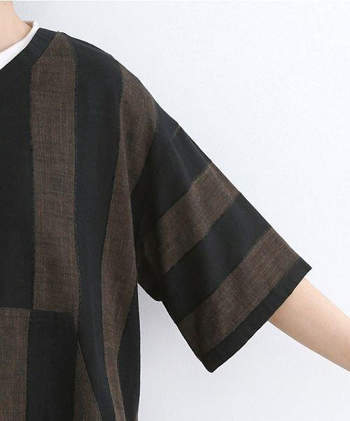 merlot(メルロー)/【IKYU】ストライププルオーバーシャツ/00010012-939670063174_img05