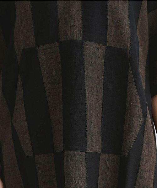 merlot(メルロー)/【IKYU】ストライププルオーバーシャツ/00010012-939670063174_img06