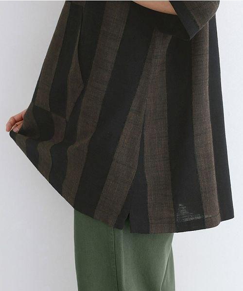 merlot(メルロー)/【IKYU】ストライププルオーバーシャツ/00010012-939670063174_img08