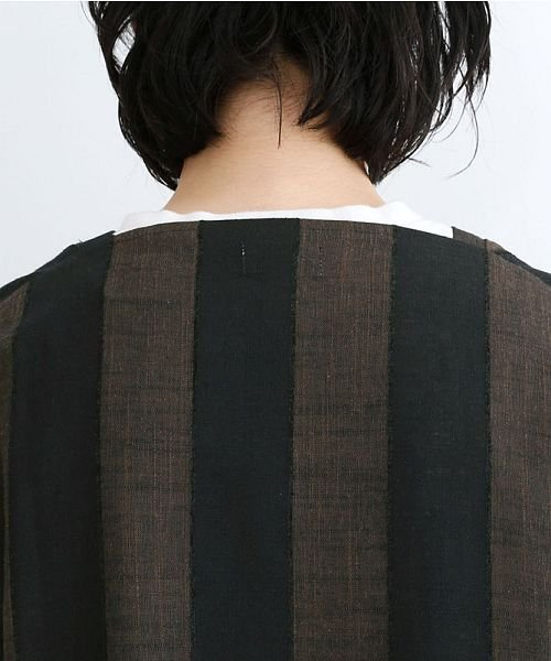 merlot(メルロー)/【IKYU】ストライププルオーバーシャツ/00010012-939670063174_img09