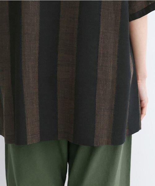 merlot(メルロー)/【IKYU】ストライププルオーバーシャツ/00010012-939670063174_img10
