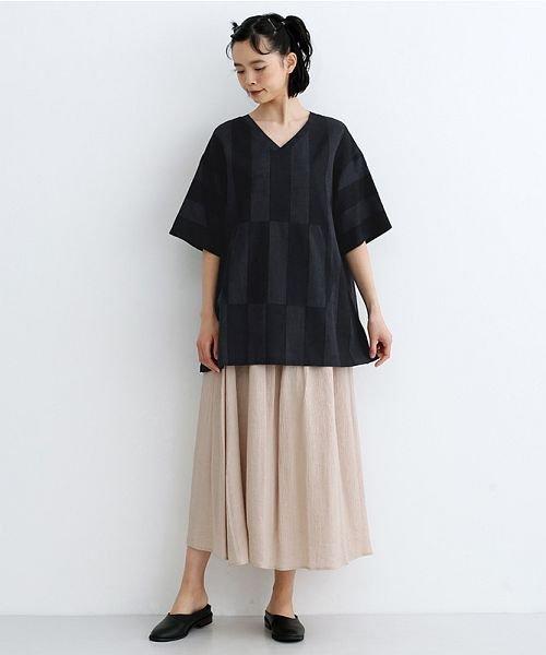 merlot(メルロー)/【IKYU】ストライププルオーバーシャツ/00010012-939670063174_img14