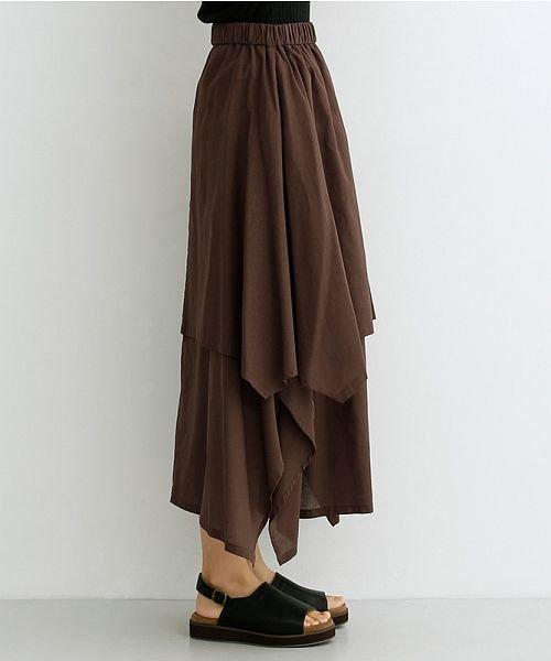 merlot(メルロー)/【IKYU】アシンメトリーフレアスカート/00010012-939670143148_img02