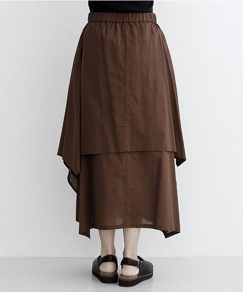 merlot(メルロー)/【IKYU】アシンメトリーフレアスカート/00010012-939670143148_img03