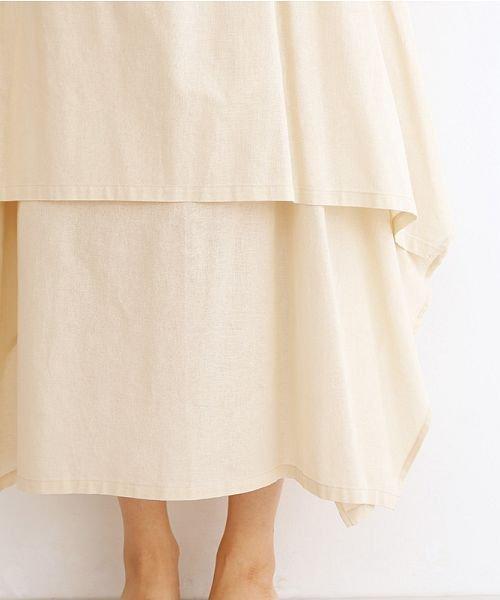 merlot(メルロー)/【IKYU】アシンメトリーフレアスカート/00010012-939670143148_img05
