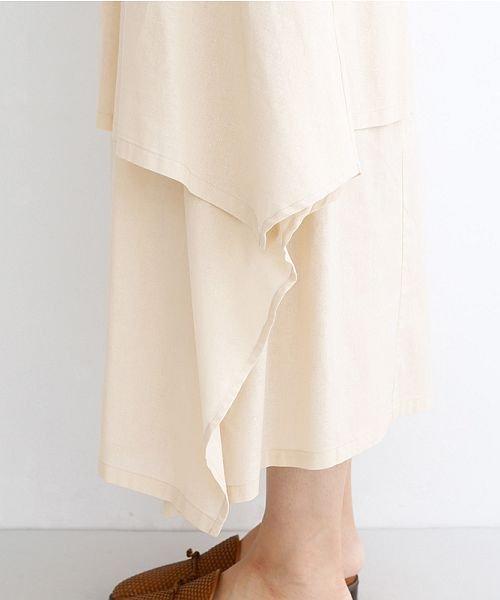 merlot(メルロー)/【IKYU】アシンメトリーフレアスカート/00010012-939670143148_img06