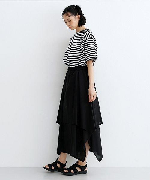 merlot(メルロー)/【IKYU】アシンメトリーフレアスカート/00010012-939670143148_img10