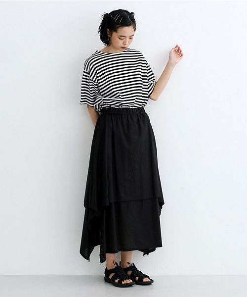 merlot(メルロー)/【IKYU】アシンメトリーフレアスカート/00010012-939670143148_img11