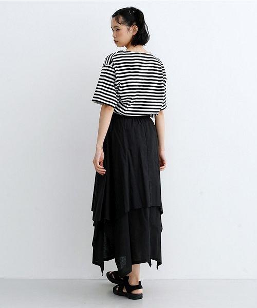merlot(メルロー)/【IKYU】アシンメトリーフレアスカート/00010012-939670143148_img12