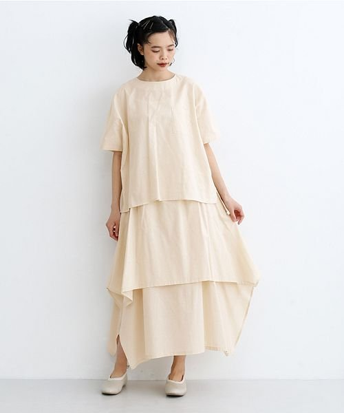 merlot(メルロー)/【IKYU】アシンメトリーフレアスカート/00010012-939670143148_img13