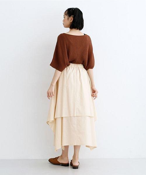 merlot(メルロー)/【IKYU】アシンメトリーフレアスカート/00010012-939670143148_img14