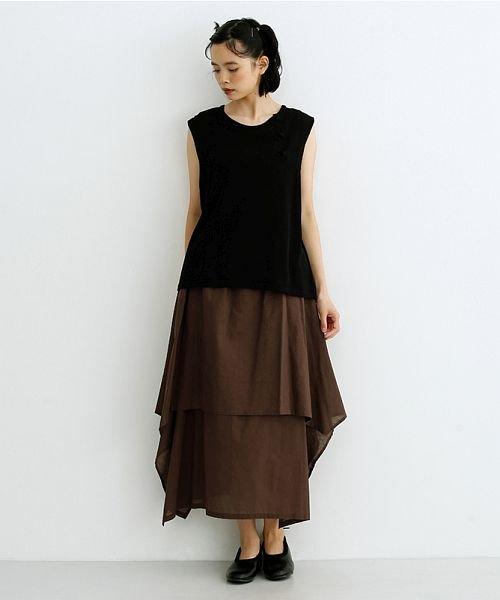 merlot(メルロー)/【IKYU】アシンメトリーフレアスカート/00010012-939670143148_img16