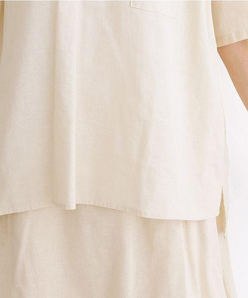 merlot(メルロー)/【IKYU】後ボタン半袖ブラウス/00010012-939670143149_img07