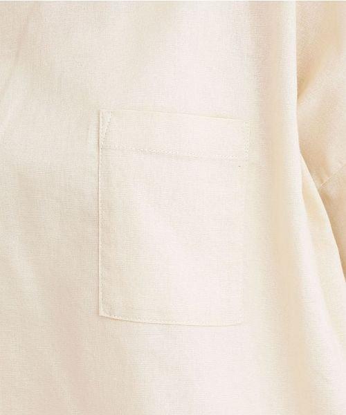 merlot(メルロー)/【IKYU】後ボタン半袖ブラウス/00010012-939670143149_img08