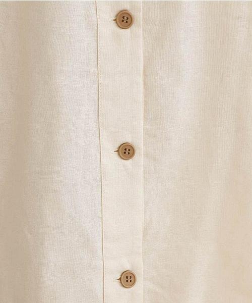 merlot(メルロー)/【IKYU】後ボタン半袖ブラウス/00010012-939670143149_img11