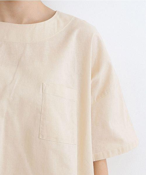 merlot(メルロー)/【IKYU】後ボタン半袖ブラウス/00010012-939670143149_img12