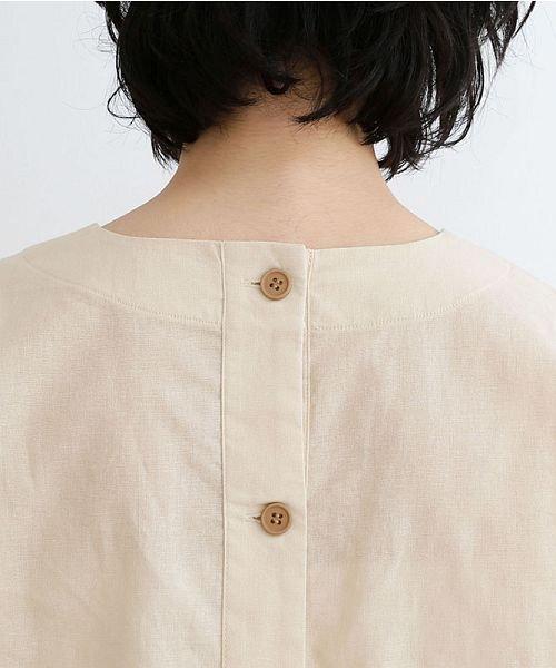 merlot(メルロー)/【IKYU】後ボタン半袖ブラウス/00010012-939670143149_img14