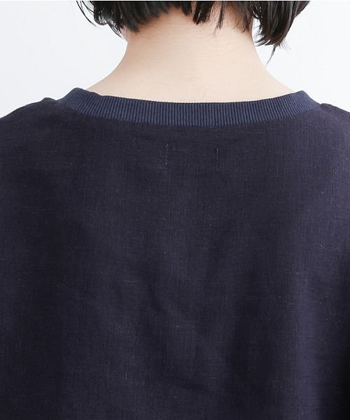 merlot(メルロー)/【IKYU】コットンリネンリブネックプルオーバー/00010012-939670143225_img08