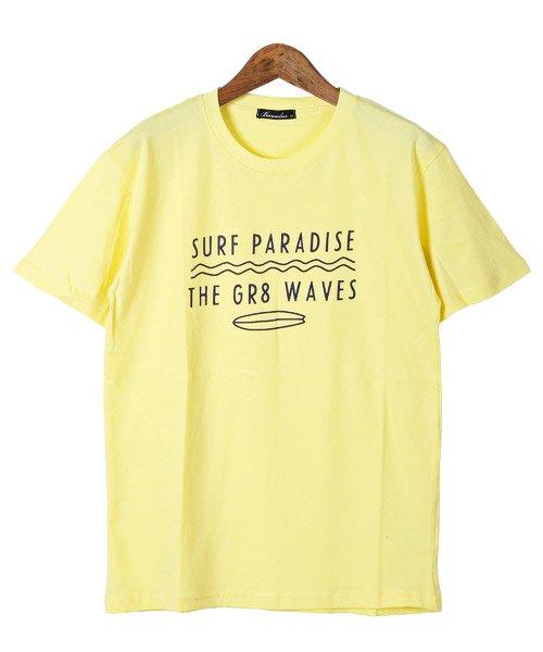 LUXSTYLE(ラグスタイル)/サーフテイストロゴプリント半袖Tシャツ/Tシャツ メンズ 半袖 ロゴ プリント/pm-8185_img08