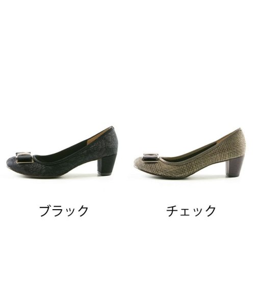 FOOT PLACE(フットプレイス)/レディース パンプス リボン GALLERY ギャラリー 日本製 DS-3202/DS-3202-SS_img02