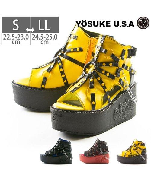 YOSUKE(ヨースケ)/レディース サンダル パンク 厚底 YOSUKE ヨースケ ID-2600887/ID-2600887-SS_img01