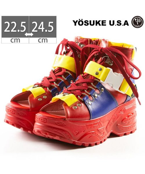 YOSUKE(ヨースケ)/レディース 厚底 スニーカーサンダル  YOSUKE ヨースケ ID-2800405/ID-2800405-SS_img01