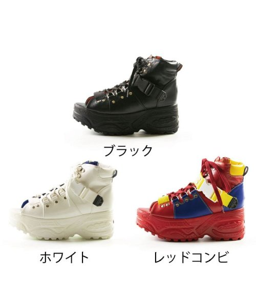 YOSUKE(ヨースケ)/レディース 厚底 スニーカーサンダル  YOSUKE ヨースケ ID-2800405/ID-2800405-SS_img02